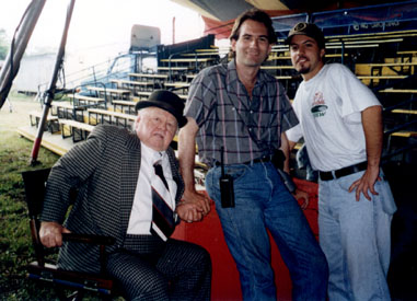 Me with Mickey Rooney